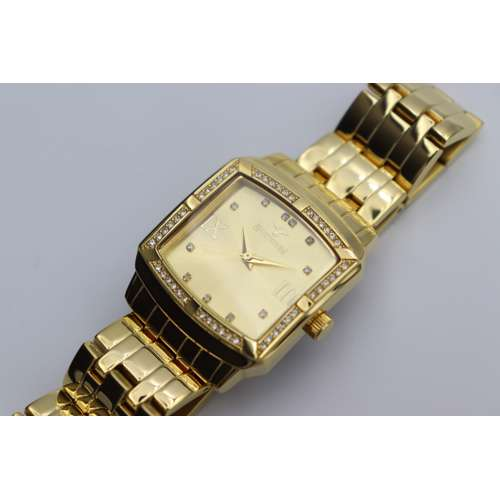Creative Women''s Gold Watch - Stainless Steel S27010L-1