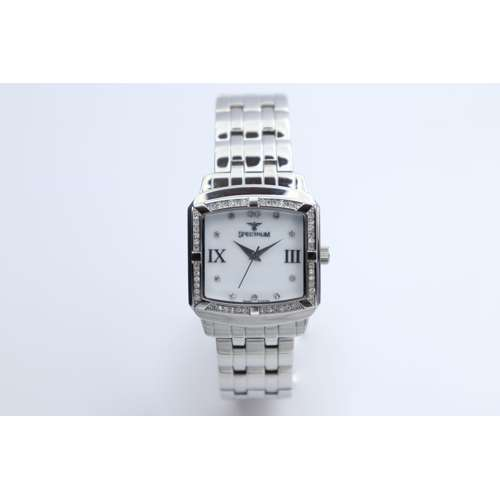 Creative Women''s Silver Watch - Stainless Steel S27010L-4