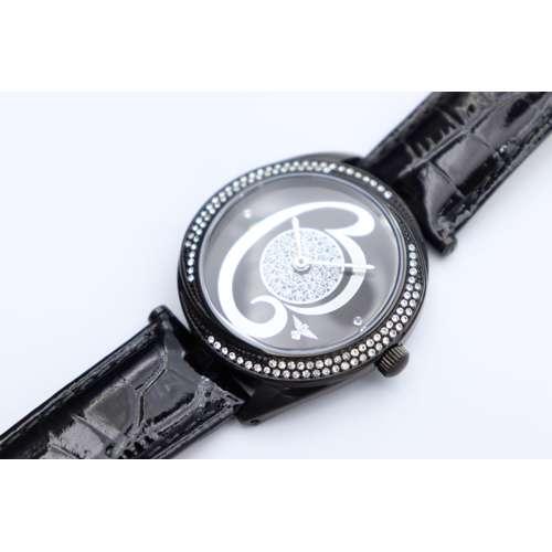 Creative Women''s Black Watch - Leather S27013L-6