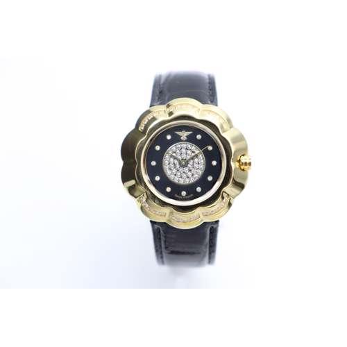 Creative Women''s Black Watch - Leather S27014l-3