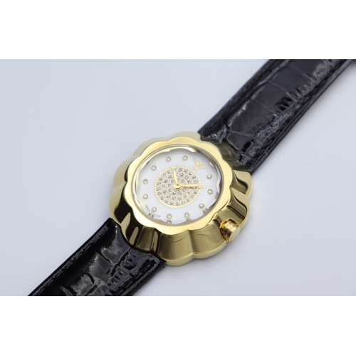 Creative Women''s Black Watch - Leather S27015L-3