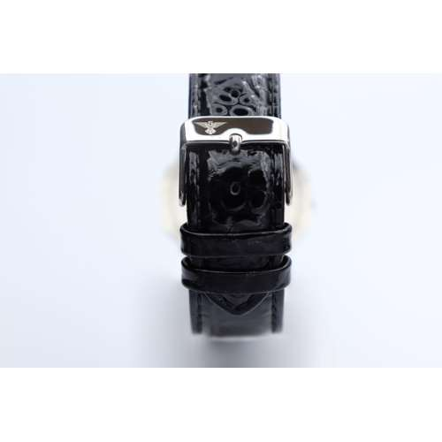 Creative Women''s Black Watch - Leather S27015L-5