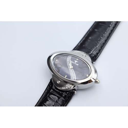 Creative Women''s Black Watch - Leather S27016L-5