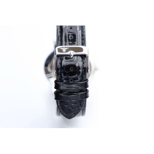 Creative Women''s Black Watch - Leather S27017L-4