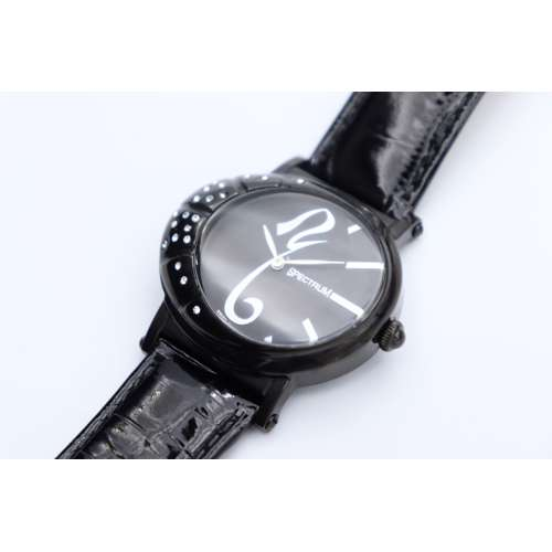 Creative Women''s Black Watch - Leather S27017L-5