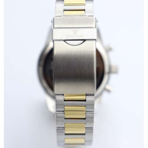 Multidimensional Men''s Two Tone Watch - Stainless Steel S82436M-3