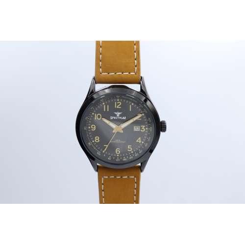 Explorer Men''s Camel Brown Watch - Leather S82461M-2