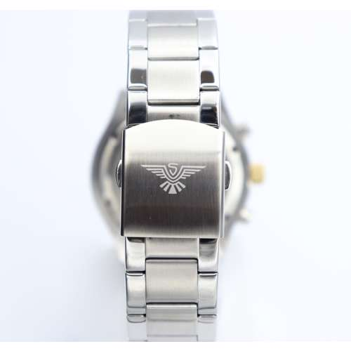 Multidimensional Men''s Silver Watch - Stainless Steel SP93304M-2