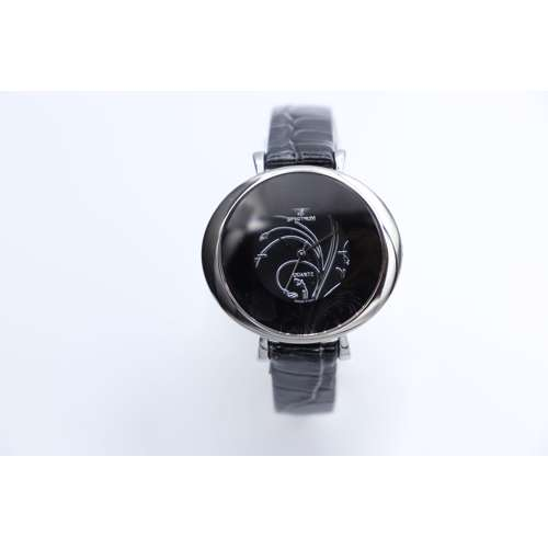 Creative Women''s Black Watch - Leather SP93470L-2