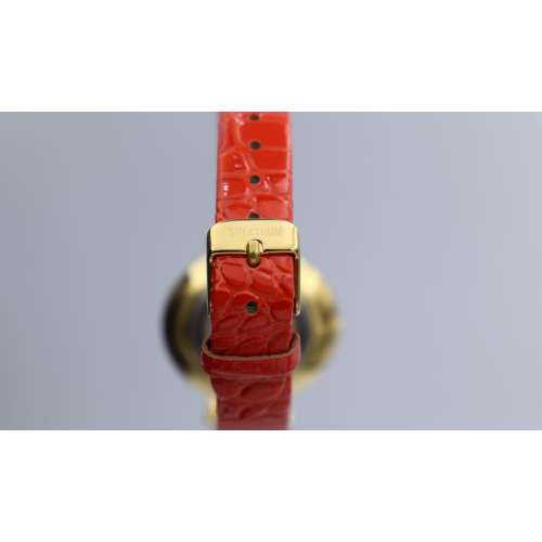 Creative Women''s Red Watch - Leather SP93470L-3