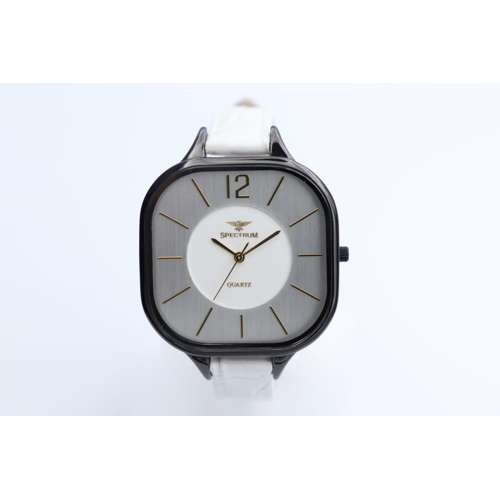 Creative Women''s White Watch - Leather SP93474L-1
