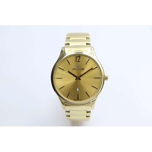 Challenger Men''s Gold Watch - Stainless Steel SP93487M-1