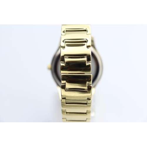 Challenger Men''s Gold Watch - Stainless Steel SP93487M-2