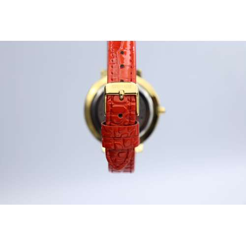 Creative Women''s Red Watch - Leather SP93505L-4