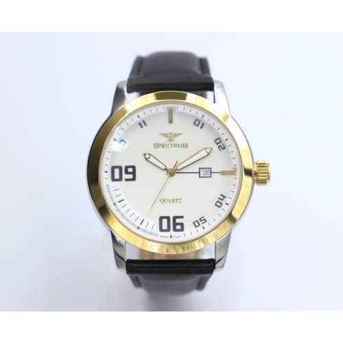 Creative Men''s Black Watch - Leather SP93620M-1