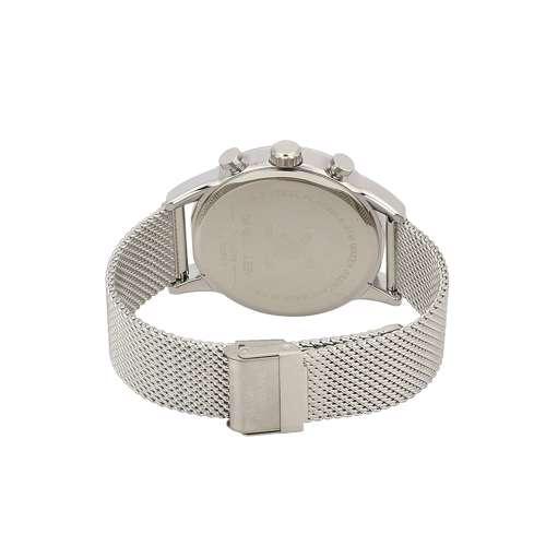 Mesh Band Mens''s Silver Watch - DK.1.12259-2