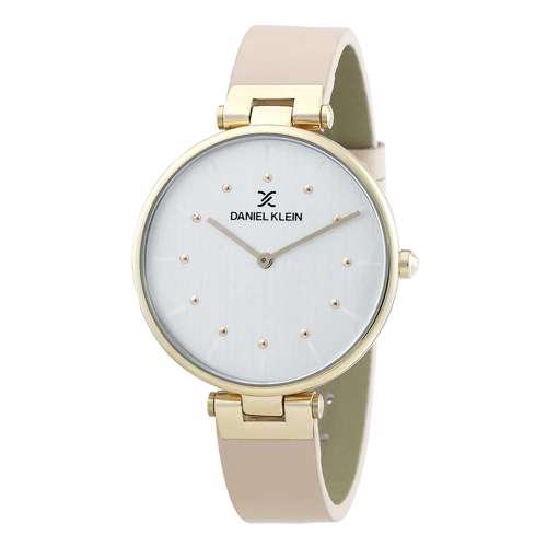 Leather Womens''s Beige Watch - DK.1.12260-4