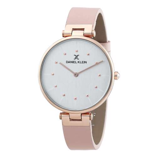 Leather Womens''s Pink Watch - DK.1.12260-5