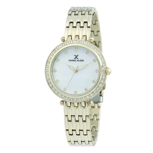 Stainless Steel Womens''s Gold Watch - DK.1.12264-3