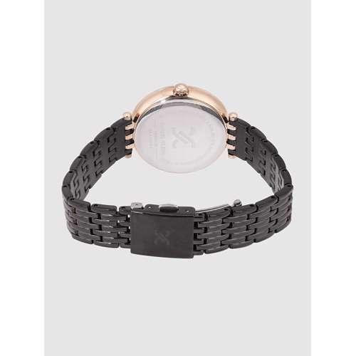 Stainless Steel Womens''s Black Watch - DK.1.12264-6