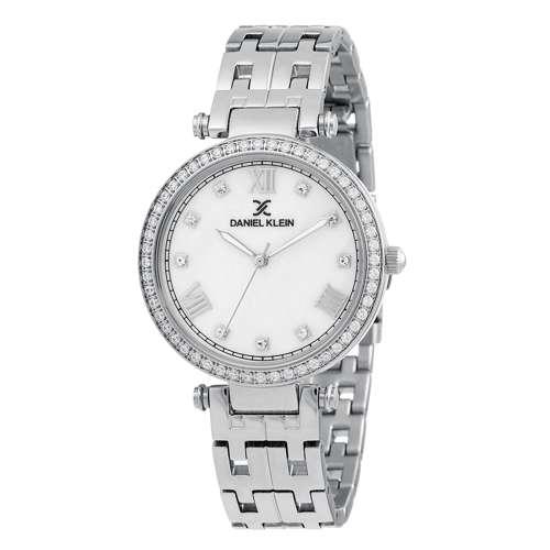Stainless Steel Womens''s Silver Watch - DK.1.12266-1