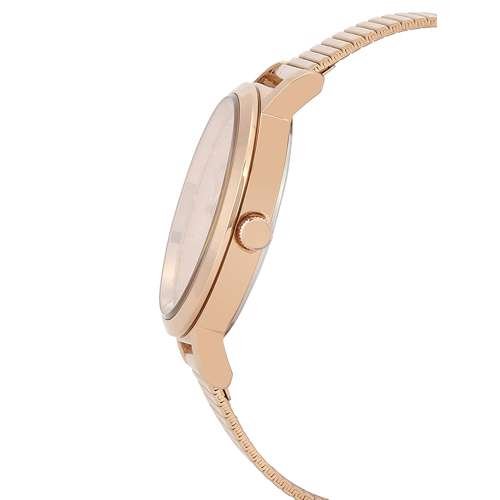 Stainless Steel Womens''s Rose Gold Watch - DK.1.12267-3