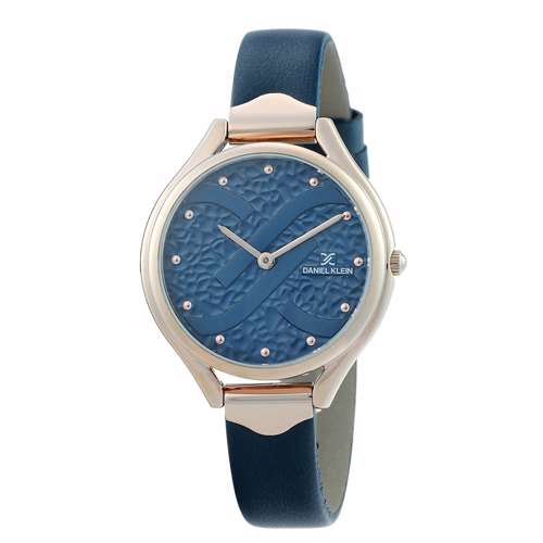 Leather Womens''s blue Watch - DK.1.12268-3