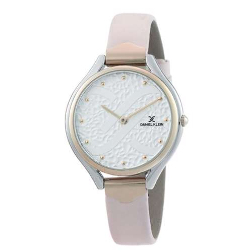 Leather Womens''s Pink Watch - DK.1.12268-6