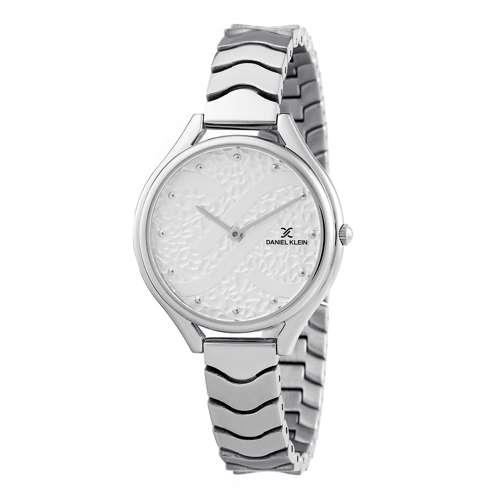 Stainless Steel Womens''s Silver Watch - DK.1.12271-1