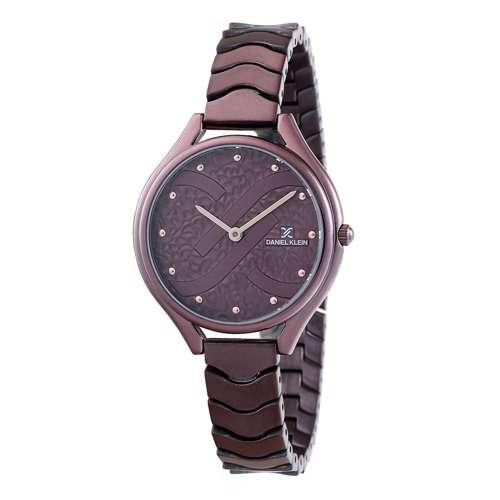 Stainless Steel Womens''s Purple Watch - DK.1.12271-6