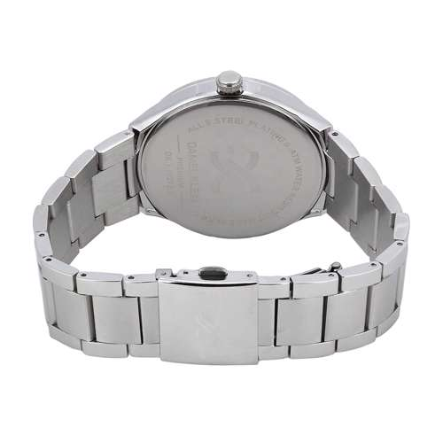 Stainless Steel Mens''s Silver Watch - DK.1.12272-3