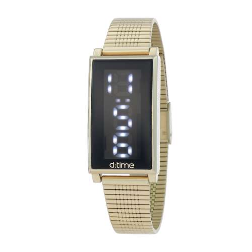 Mesh Band Womens''s Gold Watch - DK.1.12273-4