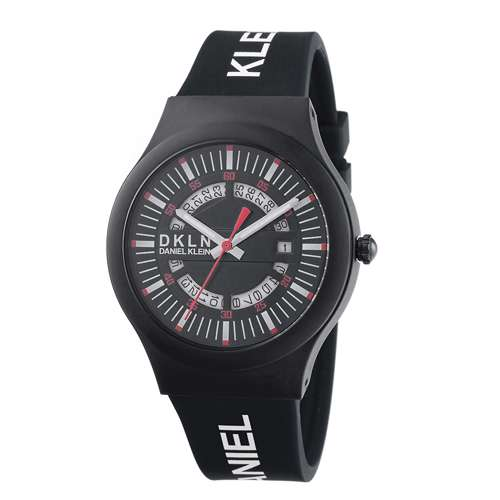 Silicone Mens''s Black Watch - DK.1.12275-3