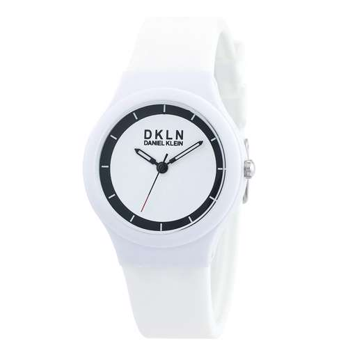 Silicone Womens''s White Watch - DK.1.12277-1