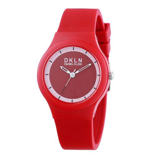 Silicone Womens''s Multicolour Watch - DK.1.12277-10