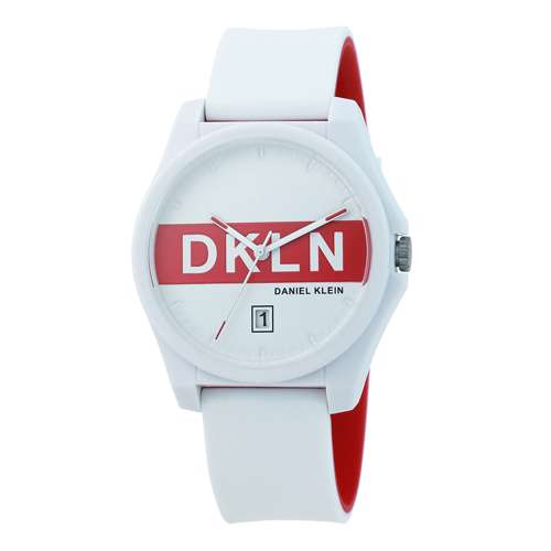 Silicone Mens''s Red Watch - DK.1.12278-2