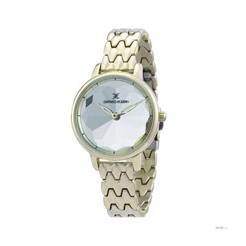 Stainless Steel Womens''s Gold Watch - DK.1.12280-2