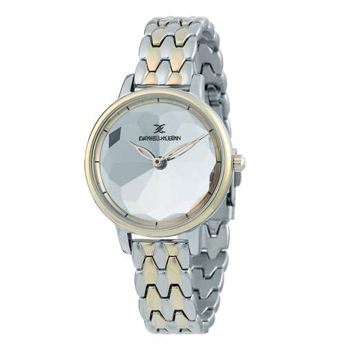 Stainless Steel Womens''s Two Tone Rose Watch - DK.1.12280-3