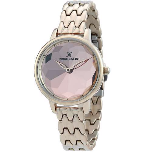 Stainless Steel Womens''s Rose Gold Watch - DK.1.12280-5