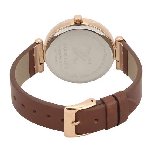 Leather Womens''s Creem Watch - DK.1.12281-3