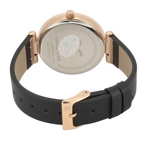 Leather Womens''s Brown Watch - DK.1.12281-5