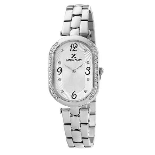 Stainless Steel Womens''s Silver Watch - DK.1.12283-5