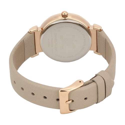 Leather Womens''s Beige Watch - DK.1.12285-5