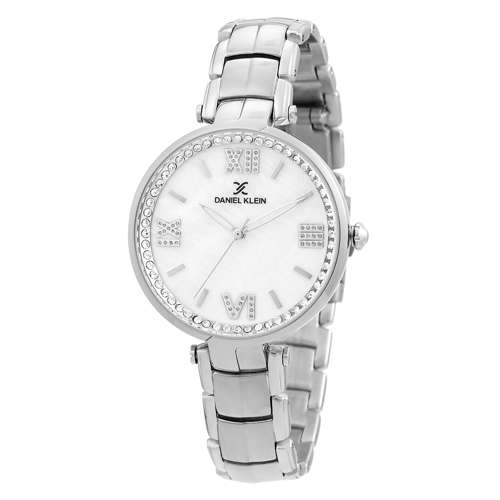 Stainless Steel Womens''s Silver Watch - DK.1.12286-1