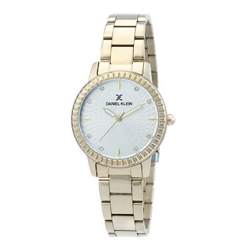 Stainless Steel Womens''s Gold Watch - DK.1.12287-3