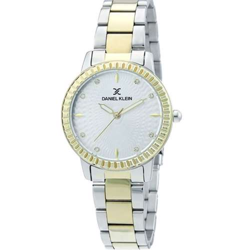 Stainless Steel Womens''s Two Tone Gold Watch - DK.1.12287-4