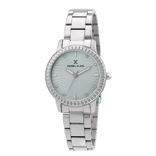Stainless Steel Womens''s Silver Watch - DK.1.12287-7