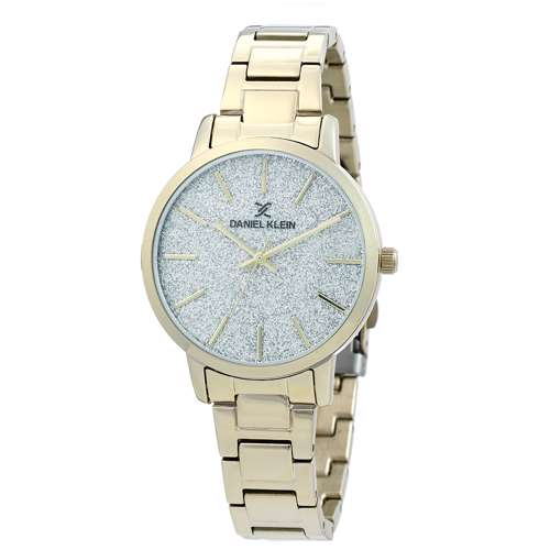 Stainless Steel Womens''s Gold Watch - DK.1.12288-3