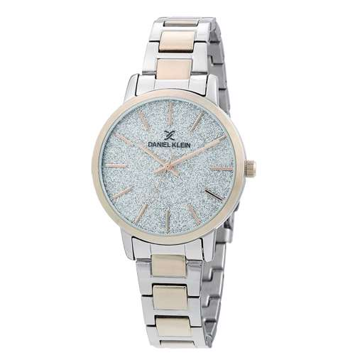 Stainless Steel Womens''s Two Tone Rose Watch - DK.1.12288-4