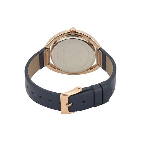 Leather Womens''s blue Watch - DK.1.12289-6